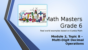 Eureka Math (Engage NY) Introductory PowerPoint - Gr 6, M2, TB: Mult-Dig Decimal