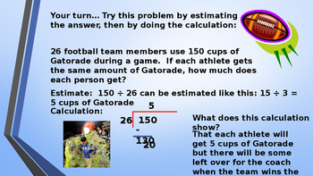 Eureka Math (Engage NY) Introductory PowerPoint - Gr 6, M2, TC: Div WhN & Dec