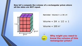 Eureka Math (Engage NY) Introductory PowerPoint - Gr 6,Mod5,TopicC - vol formula