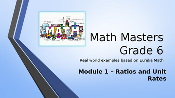 Eureka Math (Engage NY) Introductory PowerPoint - Gr 6, Module 1