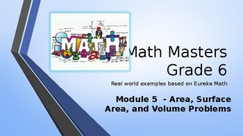 Eureka Math (Engage NY) Introductory PowerPoint - Gr 6, Module 5 - Geometry