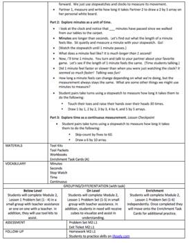 Eureka Math Engage NY Lesson Plans FULL Module 2 Grade 3