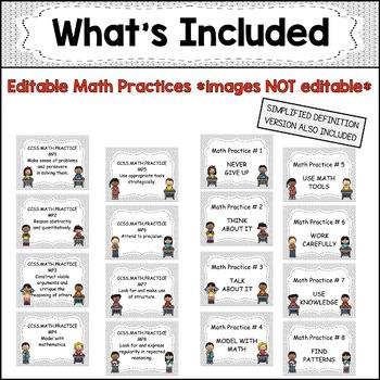 "Eureka Math / Engage NY - Math Focus Wall Headings ""I Can"" objectives 4th Grade"