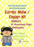 Eureka Math/Engage NY Module 1 Assessment Bundle Kindergar