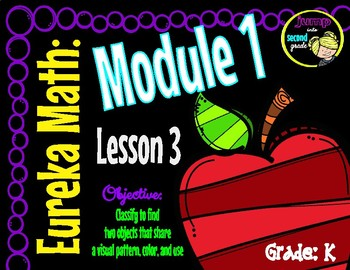 Eureka Math Engage NY Module 1 Lesson 3 Kindergarten 2016