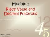 Eureka Math/Engage NY - Module 1 Lessons 1-16  ( Answers,