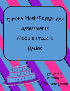 Eureka Math Engage NY Module 1 Topic A Assessments