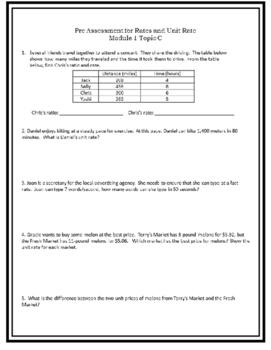 Eureka Math Engage NY Module 1 Topic C Assessments