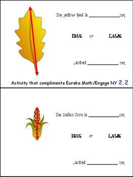 Eureka Math/Engage NY Module 2.2 - 2.4 Math Centers 2nd Grade (2.MD.1)
