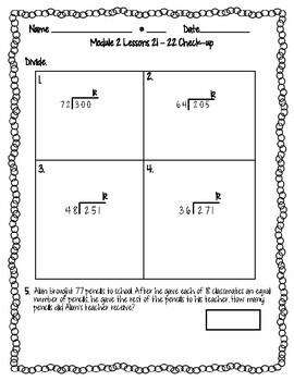 Eureka Math (Engage NY) Module 2 Lessons 21 - 22 ...