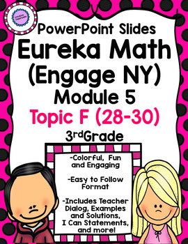 Eureka Math (Engage NY) Module 5 Topic F PowerPoint Slides