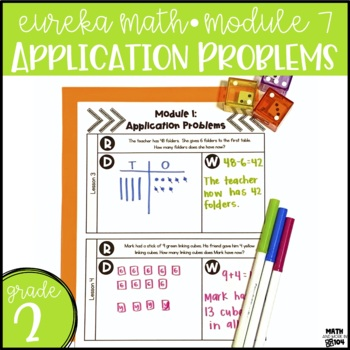 Eureka Math / Engage NY Module 7 Application Problems - 2nd Grade