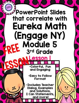 Eureka Math (Engage NY) PowerPoint Slides for Module 5 Lesson 1