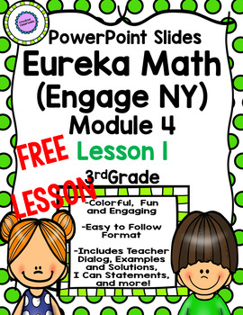 Eureka Math (Engage NY) PowerPoints for Module 1, Lesson 1