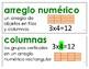 Eureka Math / Engage NY - SPANISH Vocabulary 2nd Grade Module 6 - GREEN Font