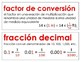 Eureka Math / Engage NY - SPANISH Vocabulary 5th Grade Module 2 - RED Font