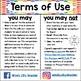 Eureka Math / Engage NY - SPANISH Vocabulary 5th Grade Module 4 - GREEN Font