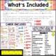 Eureka Math / Engage NY - SPANISH Vocabulary Kindergarten Module 4 - Green Font