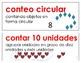 Eureka Math / Engage NY - SPANISH Vocabulary Kindergarten Module 5 - RED Font