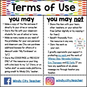 Eureka Math / Engage NY - SPANISH Vocabulary Kindergarten Module 6 - Green Font