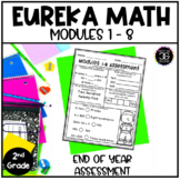 Eureka Math Engage NY Second Grade End of Year Assessment
