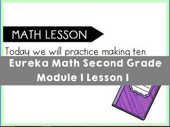 Eureka Math Engage NY Second Grade Mod 1 Lesson 1 Flipchart