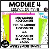 Eureka Math Engage NY Second Grade Module 4 Assessment Resources BUNDLE