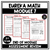 Eureka Math Engage NY Second Grade Module 7 End of Module Review and Assessment