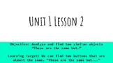 Eureka Math (Engage NY) Slides Unit 1 Lessons 1-16 Kindergarten