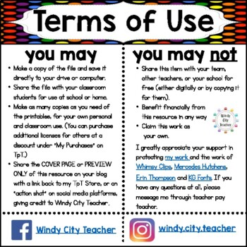Eureka Math / Engage NY - Vocabulary 6th Grade Module 6 - Vocab Words in Blue