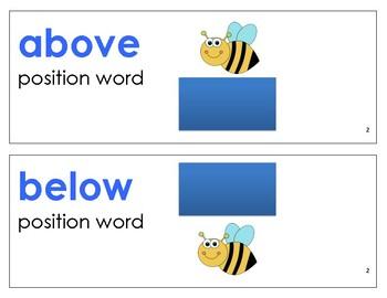 Eureka Math / Engage NY - Vocabulary Kindergarten Module 2 - Vocab Words in Blue