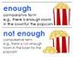 Eureka Math / Engage NY - Vocabulary Kindergarten Module 3 - Vocab Words in Blue