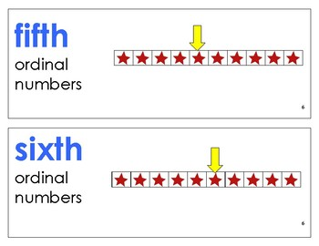 Eureka Math / Engage NY - Vocabulary Kindergarten Module 6 - Vocab Words in Blue