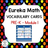 Eureka Math / Engage NY - Vocabulary Pre-K Grade Module 1 - Vocabulary Words