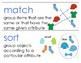 Eureka Math / Engage NY - Vocabulary Pre-K Grade Module 3 - Vocab Words in Blue