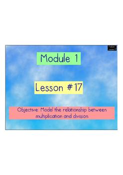 Eureka Math - Engage New York - 3rd Grade Module 1: Flipcharts for Lessons 17-21