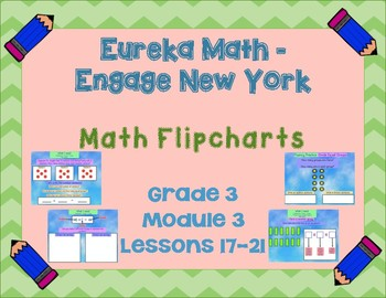 Eureka Math - Engage New York - 3rd Grade Module 3: Flipcharts for Lessons 17-21