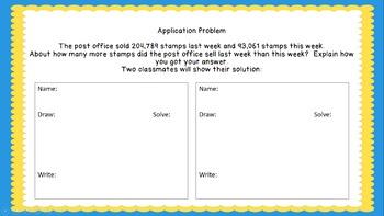 Eureka Math/Engage New York 4th Grade Module 1 Lesson 10: Estimation