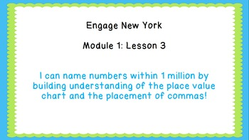 Eureka Math/Engage New York 4th Grade Module 1 Lesson 3