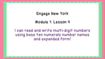 Eureka Math/Engage New York 4th Grade Module 1 Lesson 4