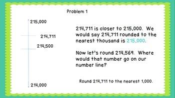 Eureka Math/Engage New York 4th Grade Module 1 Lesson 7: Rounding