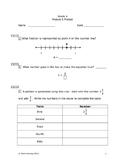 Eureka Math/Engage New York Grade 4:  Module 5 Pretest