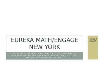 Eureka Math/Engage New York Grade 5 Module 2 Lessons