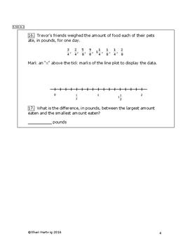 Eureka Math/Engage New York Grade 5:  Module 4 Posttest