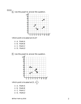 Eureka Math/Engage New York Grade 5:  Module 6 Pretest