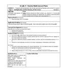 Eureka Math / Engage New York LESSON PLANS, 3rd Grade - Module 1