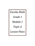 Eureka Math / Engage New York LESSON PLANS, First Grade - All Modules (1-6)