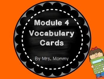 Eureka Math (Engage New York) Vocabulary Cards 2nd Grade Module 4