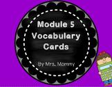 Eureka Math (Engage New York) Vocabulary Cards 2nd Grade Module 5