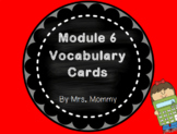 Eureka Math (Engage New York) Vocabulary Cards 2nd Grade Module 6